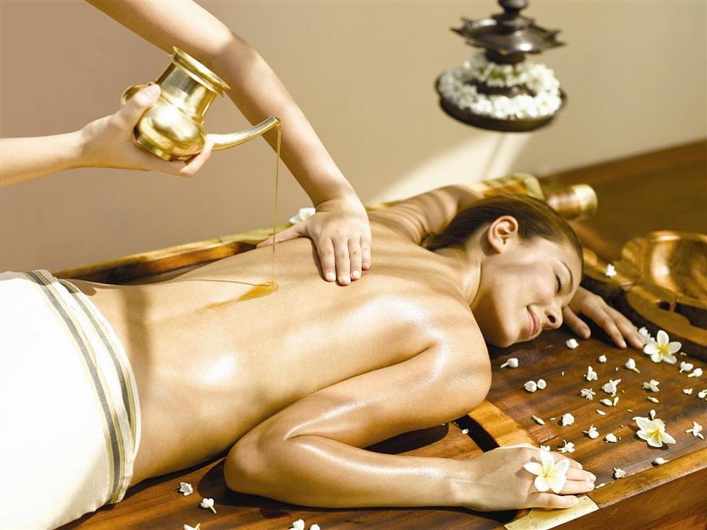 Оил массаж